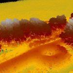 Урляпов вал, Тамбовская область. Лидарная обработка